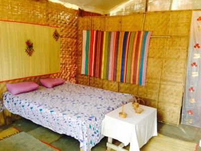 Ek Omkar Yoga & Meditation center accommodation huts